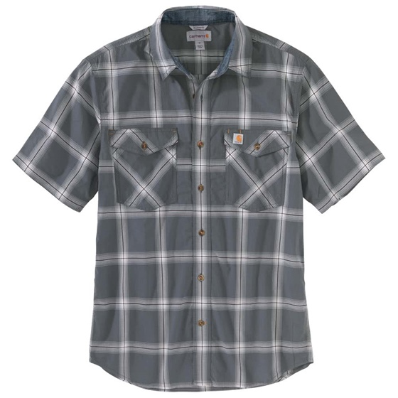 Carhartt Rugged Flex Short Sleeve Plaid Shirt