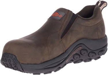 Merrell Women's Comp Toe Leather Jungle Moc