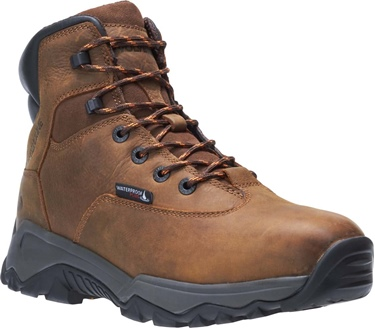 "Wolverine Men's 6"" Glacier Comp Toe Waterproof Boot"