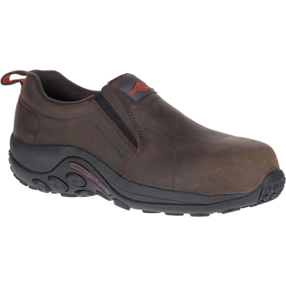 Merrell Men's Comp Toe Leather Jungle Moc