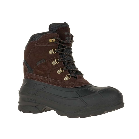 Kamik Men's Fargo -40 Pac Boot Brown