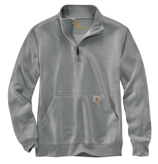 Men's Force Relaxed Fit Midweight 1/4 Zip Pocket Sweatshirt