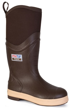 "XtraTuf Men's 15"" Elite Plain Toe Insulated"