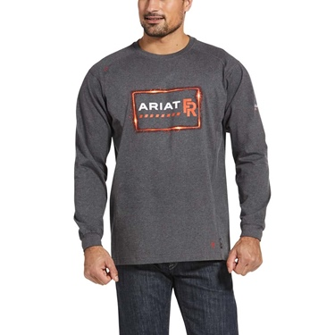 Ariat FR Air Crew Precision Graphic T-Shirt