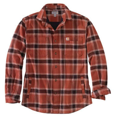 Carhartt Rugged Flex Fleece Lined Flannel Shirt B&T