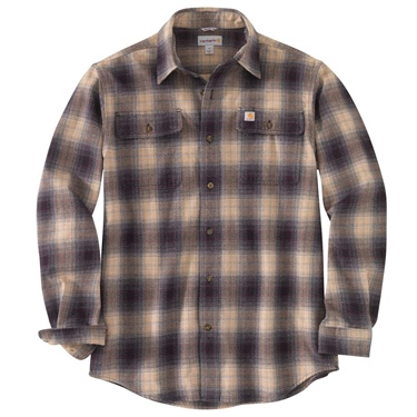 Carhartt Rugged Flex Long Sleeve Flannel Plaid Shirt B&T