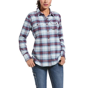 Ariat Women's  Rebar Flannel Work Shirt