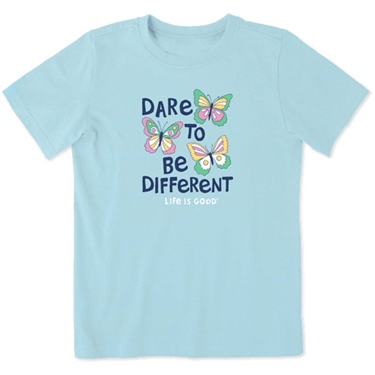 Life is Good Kid's S/S Crusher Tee Dare To Be Different