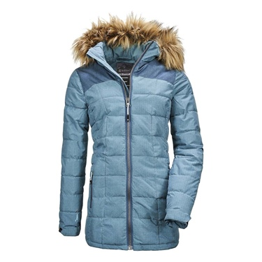 Killtec women's Skane Quilted Hooded Jacket