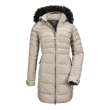 Killtec Women's Ventoso Quilted Hooded Parka