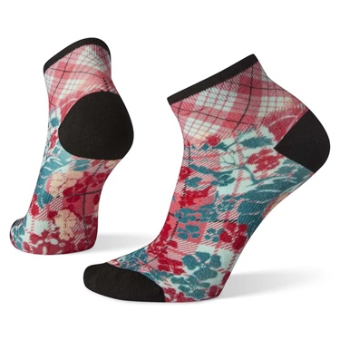 Smartwool Women's Curated Floral Plaid Graphic Mini Boot