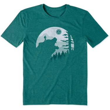 Life is Good Men's Into The Wild Cool Tee