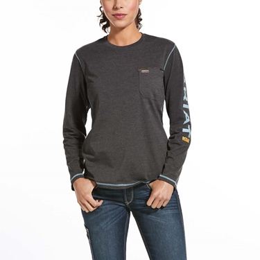 Ariat Women's Rebar Work Logo T-Shirt