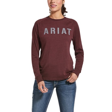 Ariat Women's Rebar Cotton Strong Block T-Shirt
