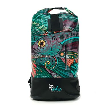 FisheWear Groovy Grayling Dry Bag Backpa