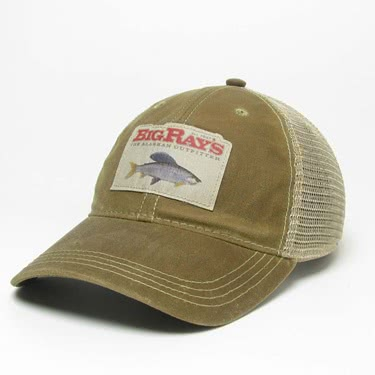 Big Ray's Grayling Patch Waxed Cap