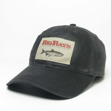 Big Ray's Salmon Patch Waxed Cap