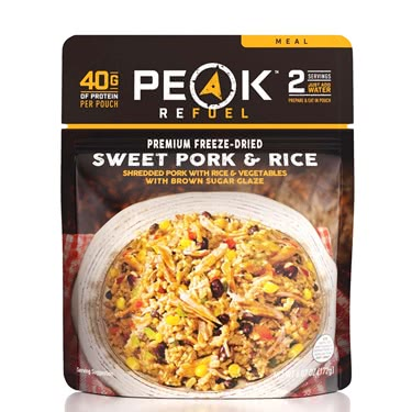Peak Refuel Sweet Pork