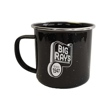 Big Ray's Retro Camp Mug - Black