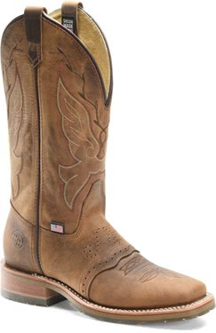 "Double H Women's 12"" Charity Boot - USA"