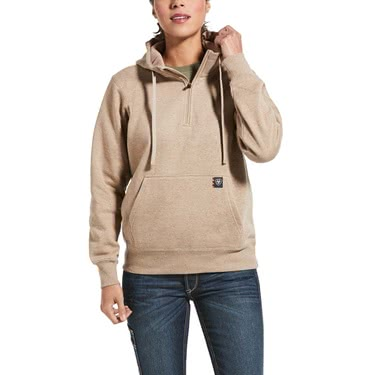 Ariat Women's Rebar Skill Set 1/2 Zip Hoodie