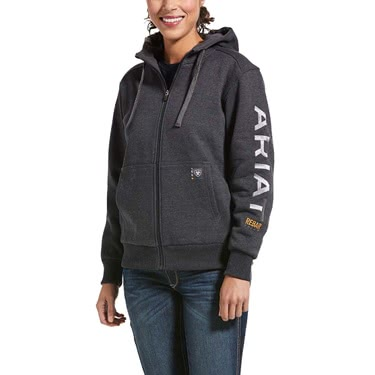Ariat Women's Rebar All-Weather Full Zip Hoodie