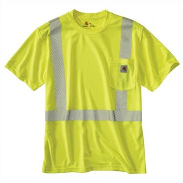 Carhartt Men's Force High-Vis Class 2 Short-Sleeve T-Shirt