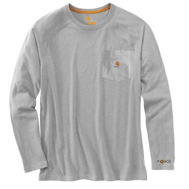 Carhartt Men's Force Cotton Long-Sleeve T-Shirt