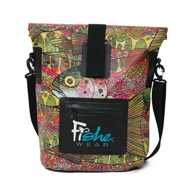 FisheWear Troutrageous Rainbow Dry Bag