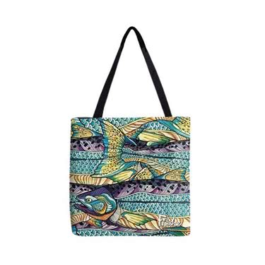 FisheWear Kaliedo King Fabric Tote
