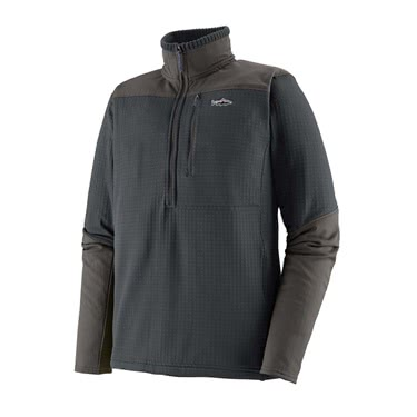 Patagonia Men's Long-Sleeved R1 Fitz Roy 1/4-Zip