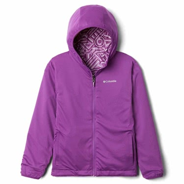 Columbia Kid's Pixel Grabber Reversable Jacket