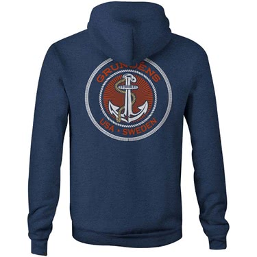 Grundens Displacement Anchor Hoodie