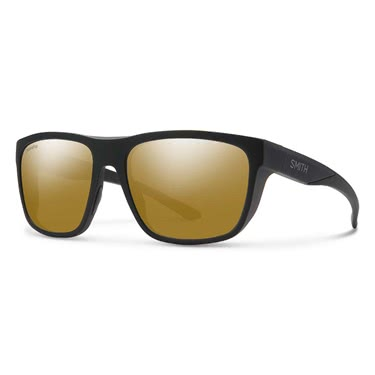 Smith Barra Matte Black ChromaPop Polarized Bronze Mirror
