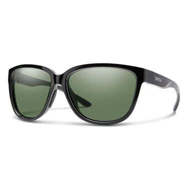 Smith Monterey Blk ChromaPop Polarized Gray Green