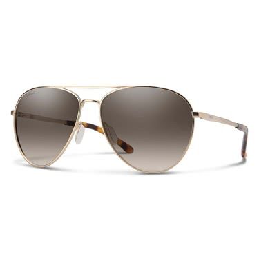 Smith Layback Matte Gold/Pc Polarized Brown Gradient