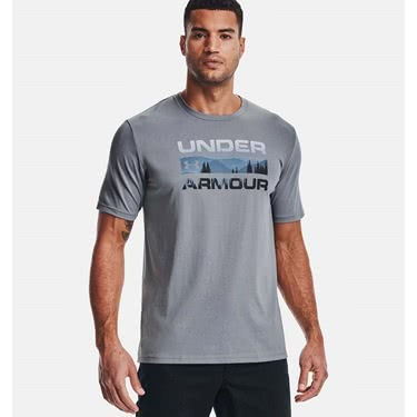 Under Armour Men's Stacked Logo Fill Tee